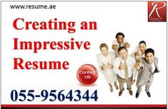 Resume.ae: Tips to write a impressive resume, follow us at ww...