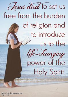 Religious Christianity is rule and doctrine based. God's transforming power and love is missing; and to be honest, it is this type of Christianity that turns the world off to Christ altogether. The world knows it isn't genuine.