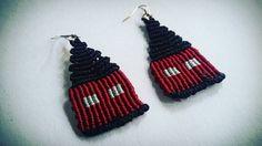 handmade earings makrame