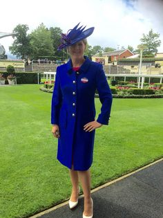 Clare Balding Royal ascot 2016 Royal Ascot Fashion Stewart Parvin