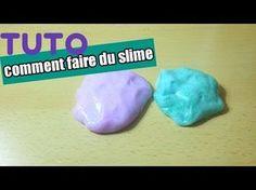 Comment faire du slime avec de la mousse à raser? DIY Fluffy Slime. Recette du Slime Sans Borax. - YouTube
