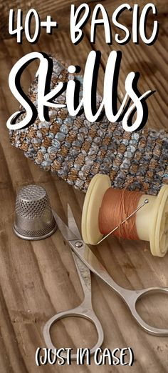 Skills To Learn, Life Skills, Homestead Survival, Survival Prepping, Emergency Preparedness, Survival Skills, The Essential Life, Sewing Tips, Sewing Hacks