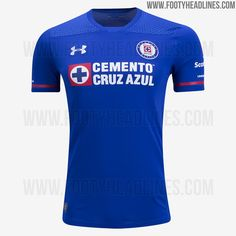 Cruz Azul 17-18 Home, Away & Third Kits Leaked - Footy Headlines