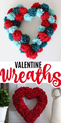 The Home Do The Job Bench - Your Own Home Base For All Do It Yourself Get The Job Done Assignments These Valentine Wreaths Are A Perfect Holiday Staples For Your Front Door Here You Can Find Tons Of Inspiring Wreaths For The Most Beloved Holiday. Valentine Day Wreaths, Valentine Day Crafts, Holiday Wreaths, Holiday Crafts, Fun Crafts, Crafts For Kids, Decor Crafts, Holiday Ideas, Valentine's Day Quotes