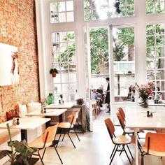 Barchel, Antwerp, Belgium — by Lonnies_Planet Outdoor Restaurant, Restaurant Bar, Restaurants, Coffee Places, Antwerp Belgium, Coffee Shop Design, Commercial Design, Places To Go, Viajes