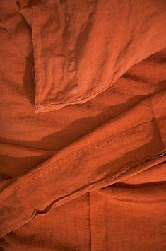 Simple Linen Euro Sham, Rust - Spruce Up: Search King Beds, Queen Beds, Black Bed Linen, Bed Linen Design, Linen Duvet, Linen Pillows, Luxury Bedding Sets, Modern Bedding, Modern Bedroom
