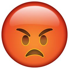 Very Angry Emoji Smiley Emoji, Angry Face Emoji, Angry Smiley, Emoticon Faces, Emoji Images, Emoji Pictures, Emojis Png, Emoji Clipart, Natural Hair Art