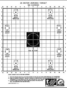 Rifle sight adjustment in target practice