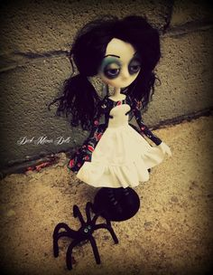 Gothic Art Doll by Dark Manor Dolls: Luna & Clyde