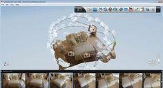 人物も、物も、風景も、いろんな角度からの写真があれば、それをクラウドサービスにアップするだけで強力なエンジンが3Dモデルにレンダリング。YouTube にシェアしたり、.objや.dwgなどの3Dツールようのファイルもエクスポートできるサービス「Autodesk 123D Catch」