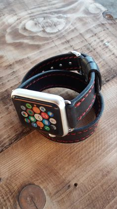 Items similar to Apple Watch Band - Apple Watch Band - Apple Watch Band - Apple Watch Straps – Women Apple Watch Band Double Tour on Etsy Rose Gold Apple Watch, Apple Watch Bands, Apple Watch Leather Strap, Wearable Technology, Fitness Tracker, Watches, Iphone, Unique Jewelry, Accessories