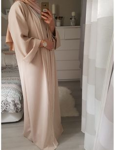 Muslim Fashion 710302172451081562 - Abaya kimono SANA Source by Zinouuh Islamic Fashion, Muslim Fashion, Modest Fashion, Fashion Outfits, Modest Wear, Modest Dresses, Modest Outfits, Mode Abaya, Hijab Trends