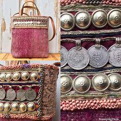 "Kilim bag - Boho bag - Shoulderbag - Tote bag - Tribal bag - Carpet bag ""Choosing the right fabric is the first step to your sewing proj..."