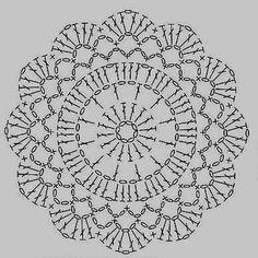 Watch The Video Splendid Crochet a Puff Flower Ideas. Phenomenal Crochet a Puff Flower Ideas. Motif Mandala Crochet, Crochet Potholder Patterns, Crochet Coaster Pattern, Crochet Diagram, Crochet Chart, Crochet Squares, Crochet Stitches, Crochet Dollies, Crochet Flowers