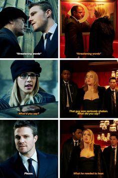 #Arrow 2x06|5x12 - #OliverQueen #FelicitySmoak