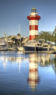 Harbour Town Lighthouse    Located on Sea Pines Resort on Hilton Head Island, SC