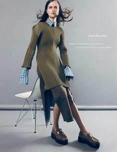 Kasia Struss by Nagi Sakai for Elle France August 2014 [Collections]