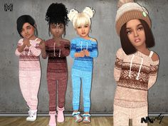 For toddler girls. A full outfit, top and pants Found in TSR Category 'Sims 4 T. - For toddler girls. A full outfit, top and pants Found in TSR Category 'Sims 4 Toddler Female' Sims 4 Toddler Clothes, Sims 4 Cc Kids Clothing, Toddler Pants, Boy Clothing, Clothing Sets, Toddler Girl Style, Toddler Girl Outfits, Toddler Fashion, Kids Outfits