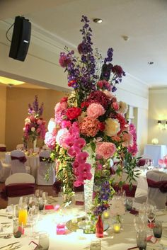 Flower Design Events: Joe Black Marries Alison Whiteley at The White Church & The Grand Hotel