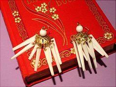 Pierced earrings for sale.