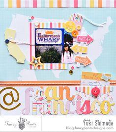 - San Francisco Layout - Fancy Pants Designs Studio
