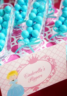 prince party cute ideas for each princess as favors