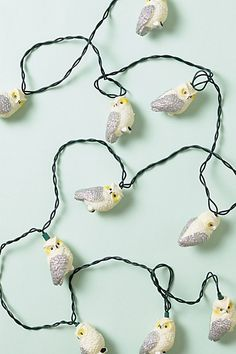Night owl companions for the ultimate night owl! Here's some adorable critters that will illuminate your inspirational creative binges that go well into the wee hours! Owl Bags, Night Owl, Cute Owl, Bird Feathers, Holiday Fun, Christmas Decorations, Christmas Lights, Birds, Drop Earrings