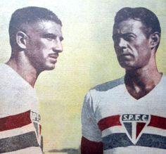 Noronha e Renganeschi. Crédito: revista A Gazeta Esportiva Ilustrada - 13 de setembro de 1947.