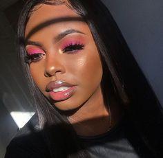 makeup slime makeup black makeup dark skin with eyeshadow only makeup types makeup dark skin for halloween makeup and makeup kit Makeup On Fleek, Flawless Makeup, Cute Makeup, Glam Makeup, Gorgeous Makeup, Pretty Makeup, Makeup Inspo, Makeup Eyeshadow, Makeup Inspiration