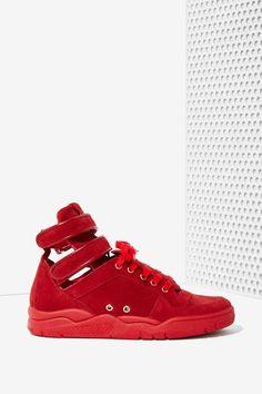 Chiara Ferragni Kimye Suede Sneaker | Shop Shoes at Nasty Gal!