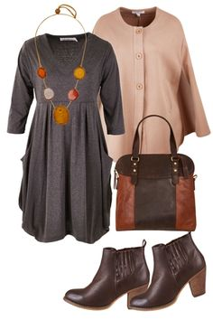 Office Play Outfit includes bird keepers by design, bird keepers, and Therapy - Birdsnest Online Store Curvy Girl Fashion, Work Fashion, Fashion Outfits, Fall Winter Outfits, Winter Fashion, Winter Dresses, Plus Size Fall Outfit, Plus Size Outfits, Country Style Outfits