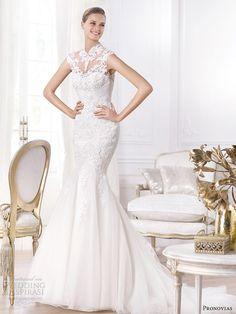 pronovias 2014 bridal leroig wedding dress qipao cheongsam asian mandarin collar