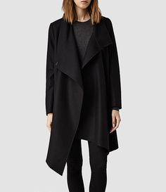 Women's City Monument Coat (Black) -