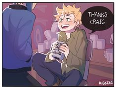 Tweek Tweak | Craig Tucker | Creek Craig Approved Coffee Cup part 2