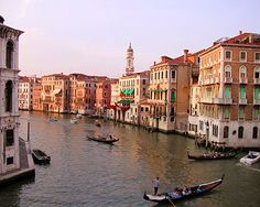 Venice, Italy. This city will take your breath away.