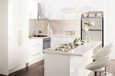 Mitre 10 kitchens, perfect!