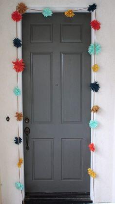12 Ideas para darle un nuevo look a las puertas de tu cuarto