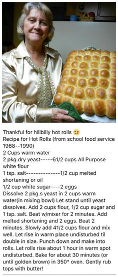 Dinner Yeast Rolls Recipe _ Dinner Yeast Rolls dinner yeast rolls recipe / dinner yeast rolls _ dinner yeast rolls recipe _ no yeast dinner rolls _ easy dinner rolls no yeast _ mommas easy no yeast dinner rolls _ quick dinner rolls no yeast _ easy din Bread Recipes, Baking Recipes, Breakfast Desayunos, Bread And Pastries, Le Diner, Vintage Recipes, Bread Baking, Yeast Bread, Food To Make