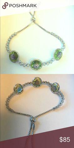 Adjustable .925 silver evil eye bracelet murano Product Details:  ►metal: .925 sterling silver ►Adjustable closure, ►Murano glass Casa Di Bling Jewelry Bracelets