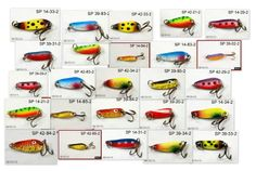 "Fishing: Lot of 25 1.25"" to 1.50"" Small Casting Fishing Spoons - Great Varieties…"