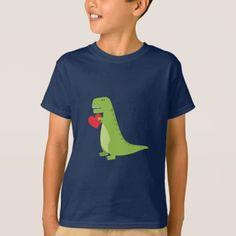 T-Rex Dinosaur Valentine Shirt
