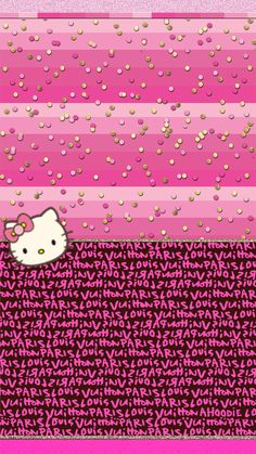 Find the best Hello Kitty Wallpaper for iPhone on GetWallpapers. We have background pictures for you! Pink Wallpaper Hello Kitty, Hello Kitty Backgrounds, Pink Hello Kitty, Iphone Backgrounds, Fashion Wallpaper, Trendy Wallpaper, Cute Wallpapers, Wallpapers Android, Images Hello Kitty
