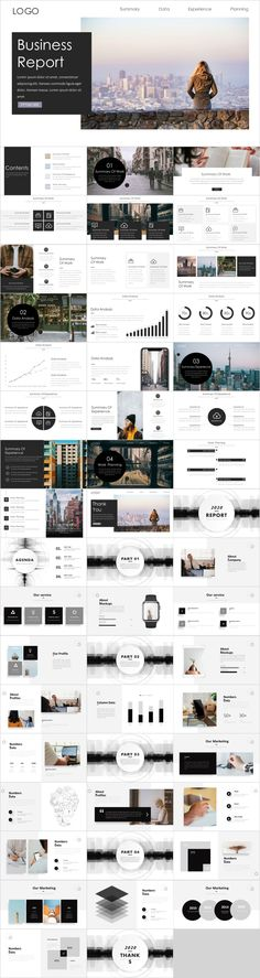 2 in 1 black report PowerPoint – The highest quality PowerPoint Templates and Keynote Templates download Jeopardy Powerpoint Template, Simple Powerpoint Templates, Professional Powerpoint Templates, Microsoft Powerpoint, Keynote Template, Ppt Design, Tool Design, Layout Design, Design Art