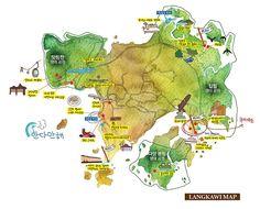 Langkawi Map