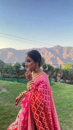 Indian Bridal Lehenga, Indian Bridal Outfits, Indian Bridal Fashion, Indian Designer Outfits, Bridal Dresses, Lehenga Wedding, Punjabi Fashion, Indian Wedding Video, Bridal Lehenga Collection