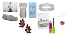 """""""Wings: Talia's outfit- chapter 3"""" by btsbvbnat on Polyvore featuring Gap, UGG, LULUS and Maybelline"""
