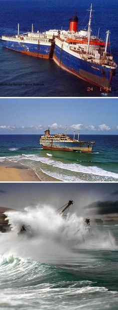 """Call out """"Abandon ship!"""" and what do you get? Abandoned ships. These 8 abandoned cruise ships and liners are all that's left of what was left to Poseidon."""