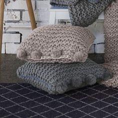 Sheridan Dark cream 'aetos' cushion- at Debenhams Mobile