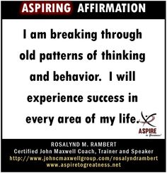 What will you affirm today? I affirm that…  ASPIRE TO GREATNESS WITH US AT https://www.facebook.com/ASPIRETOGREATNESS