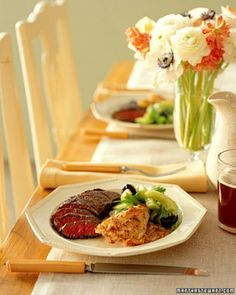 Dinner Party Ideas | How To and Instructions | Martha Stewart